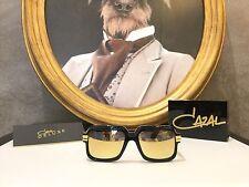 Cazal Legends 607/3 Sunglasses Gold 24kt Limited Edition N. 342/499