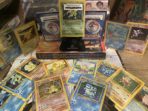 BaseSet Jungle Fossil 1st Edition Details about  /Pokémon 10 Card Booster Pack Holo Guaranteed
