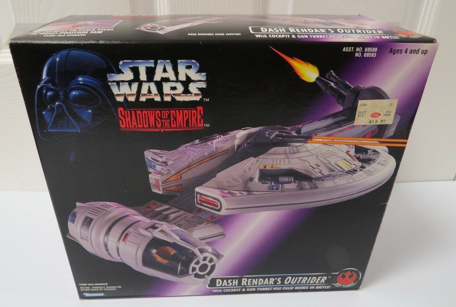 Star Wars Sombras Del Imperio Dash Rendar's escolta Sellado