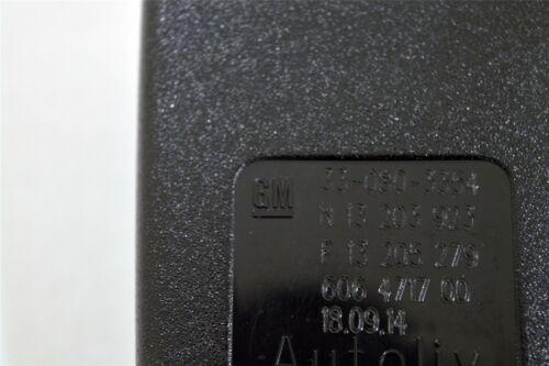 Genuino VAUXHALL ZAFIRA B centro fila de bloqueo de cinturón de seguridad de mano izquierda nuevo 13205279
