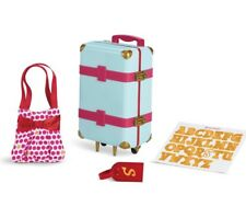 AMERICAN GIRL DOLL TRULY ME NEW TRAVEL IN STYLE LUGGAGE SET NIB(no doll)