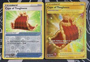 Pokémon Vivid Voltage Cape of Toughness Secret Rare Full Art & Reverse Holo