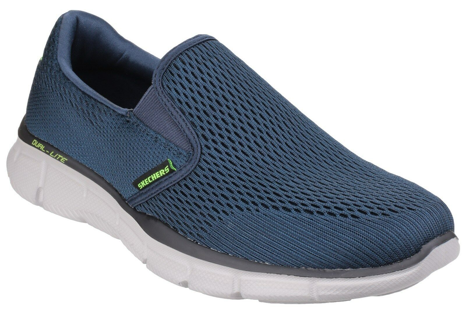 198ce5e56051 Mens Skechers Equalizer Double Play Slip on Comfortable Trainers ...