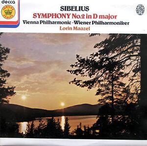 Sibelius-Symphony-no-2-Lorin-Maazel-VPO-Decca-Jubilee-JB-43-NM-EX