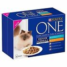 Purina One Indoor Formula With Tuna and Chicken in Gravy Wet Cat Food 8 X 85 G 5