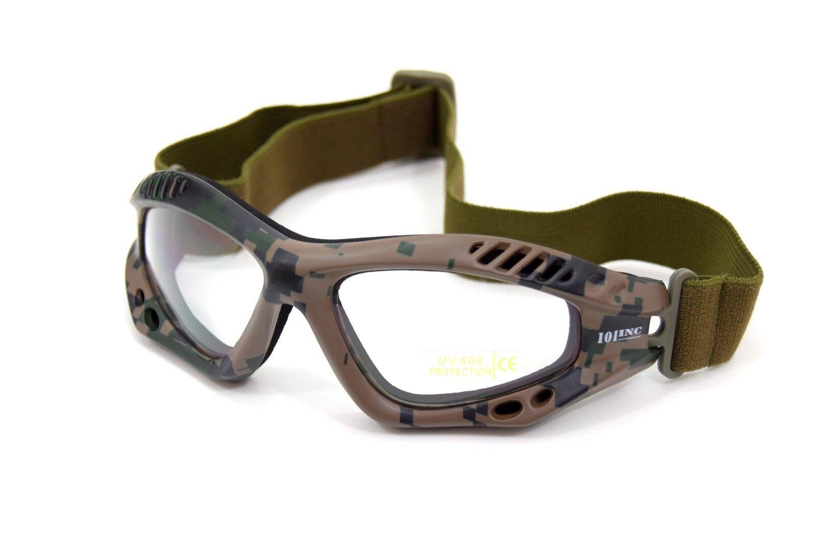 688b437384ccfb ... Militaire 101-INC 101-INC Militaire Tactical Lunettes de protection  oculaire Airsoft MARPAT US ...