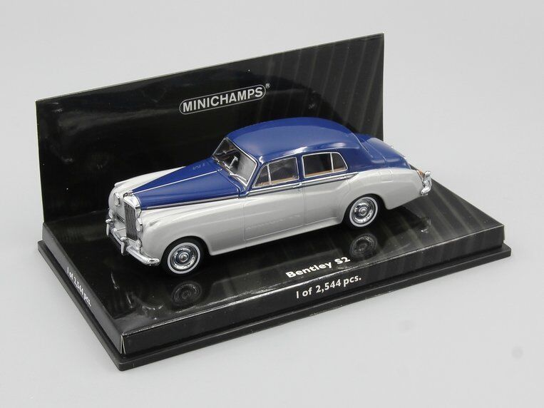 Minichamps 1 43 Bentley S2 1960 Argent Bleu L.E. 2544 pcs.