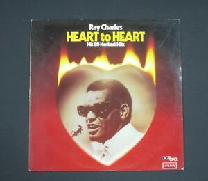 Details about RAY CHARLES Vinyl LP Heart To Heart, (20 Hits, Incl Hit The  Road Jack) EX