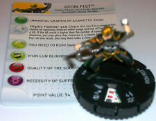 IRON FIST #018 Fear Itself Month 1 Marvel Heroclix Uncommon