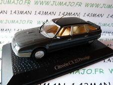 voiture1/43 norev présidentielle : CITROËN CX25 Prestige Jacques Chirac 1995