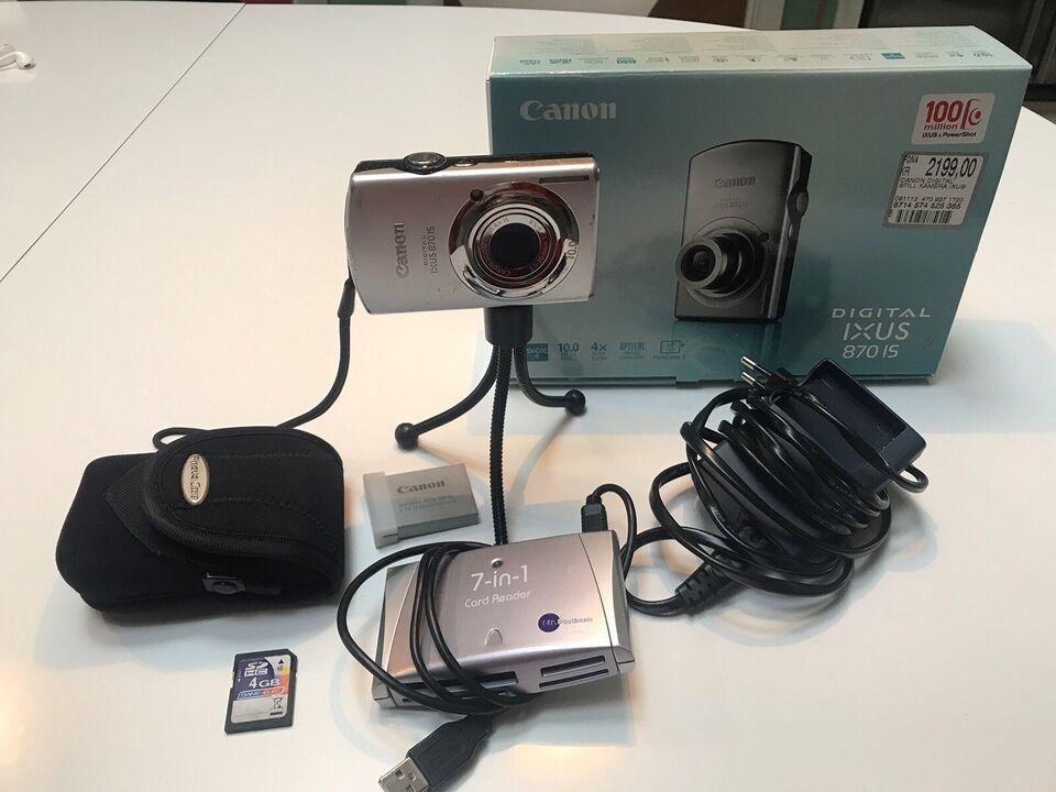 Canon, Canon, Ixus 870 IS
