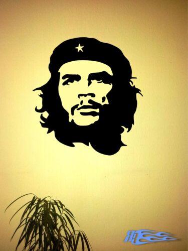 Wall Tattoo Che Guevara Oracal Matte Sticker Cuba Ernesto Guevara Rafael
