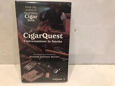 "CIGAR QUEST VOL 1 CASSETTE AUDIO ""CONVERSATIONS IN SMOKE"" RICHARD HACKER"