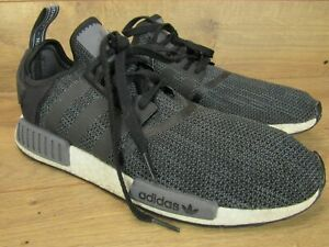 Details about Adidas NMD R1 CORE BLACK CARBON CLOUD WHITE Sneakers Mens Shoes Size 13 48
