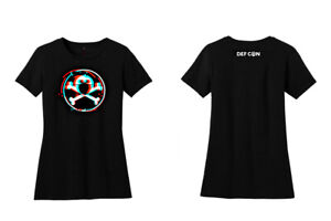 DEF-CON-is-canceled-SAFEMODE-Glitch-t-shirt-WOMEN-039-S-cut-WOMEN-039-S