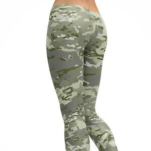 07ce9e5e333ba Image is loading Multicam-Camouflage-Leggings-Camo-Leggings -Premium-Women-039-