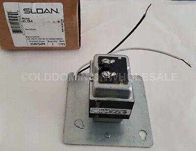 SLOAN EL154 TRANSFORMER PRI 120V 50//60Hz SEC 24V 50VA *** NEW