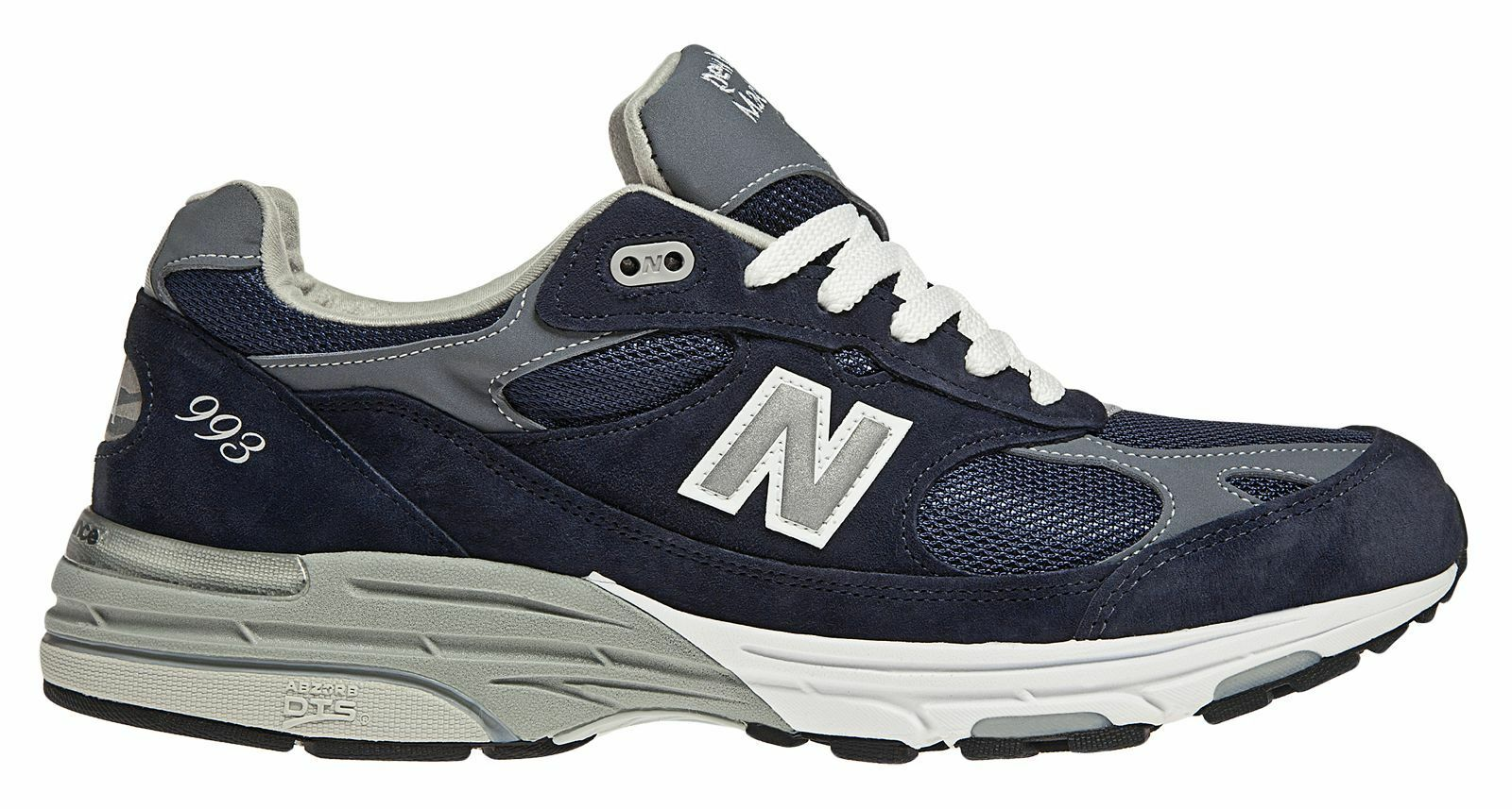 New Balance Men's Classic 993 Running shoes bluee with White
