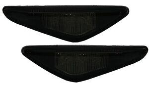 2-CLIGNOTANT-LATERAUX-LED-BMW-E46-COUPE-2003-2006-316-318-320-325-330-Ci-NOIR