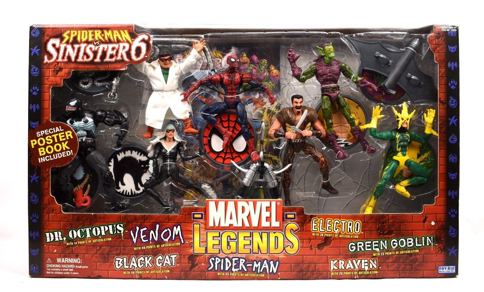 Marvel Legends - Spider-Man vs The Sinister Six Action Figure Set