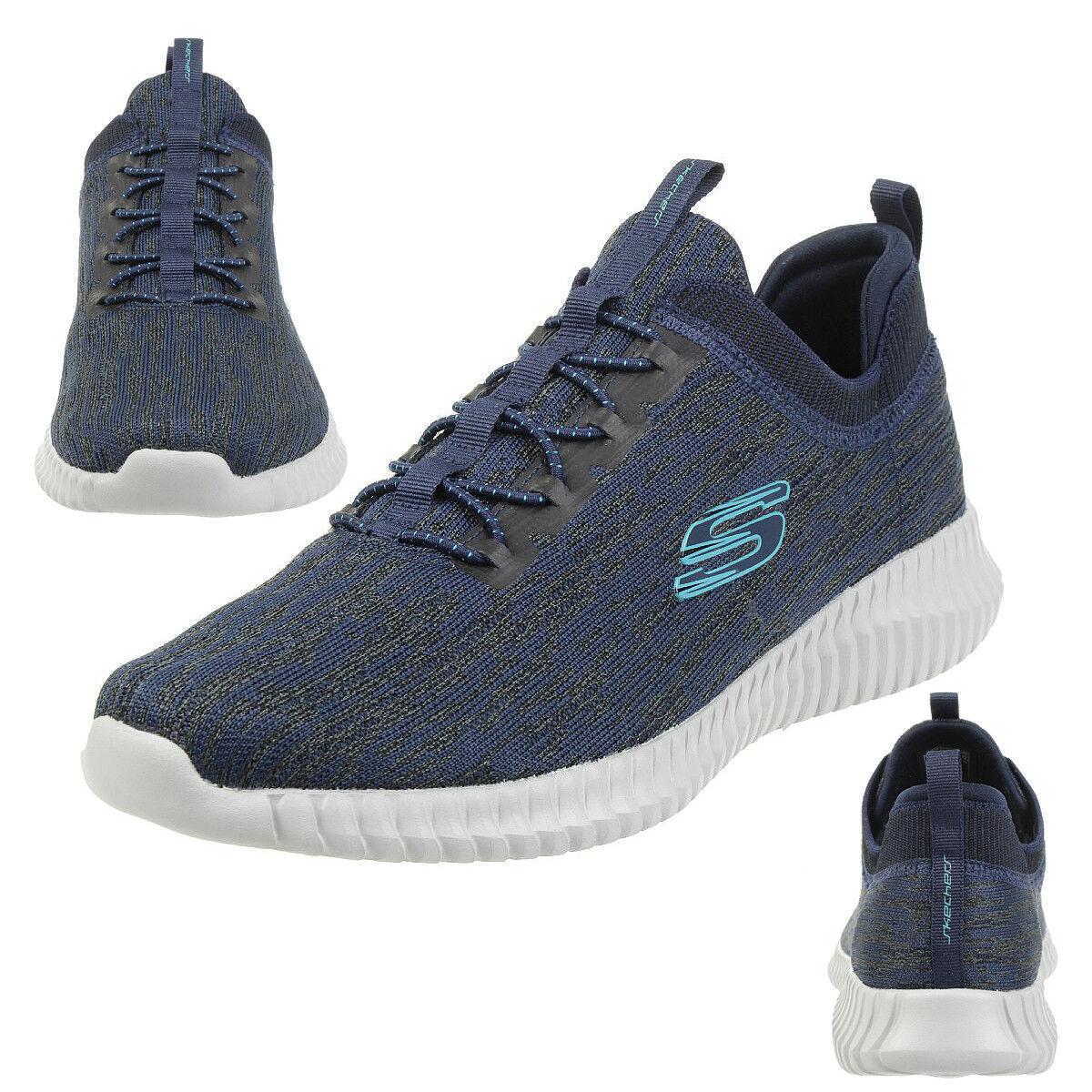 Skechers Elite Flex Hartnell Herren Sneaker Fitness Schuhe NVBL