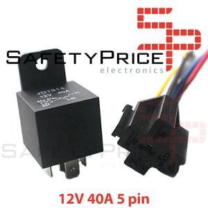 Rele-de-Conmutacion-automotriz-12V-40A-5-Pin-con-soporte-de-enchufe