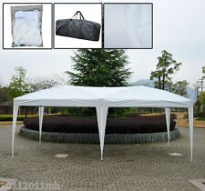 Outsunny 10 x 20 ft Gazebo Patio Party pop-up Tent Wedding Canopy Garden Shelter