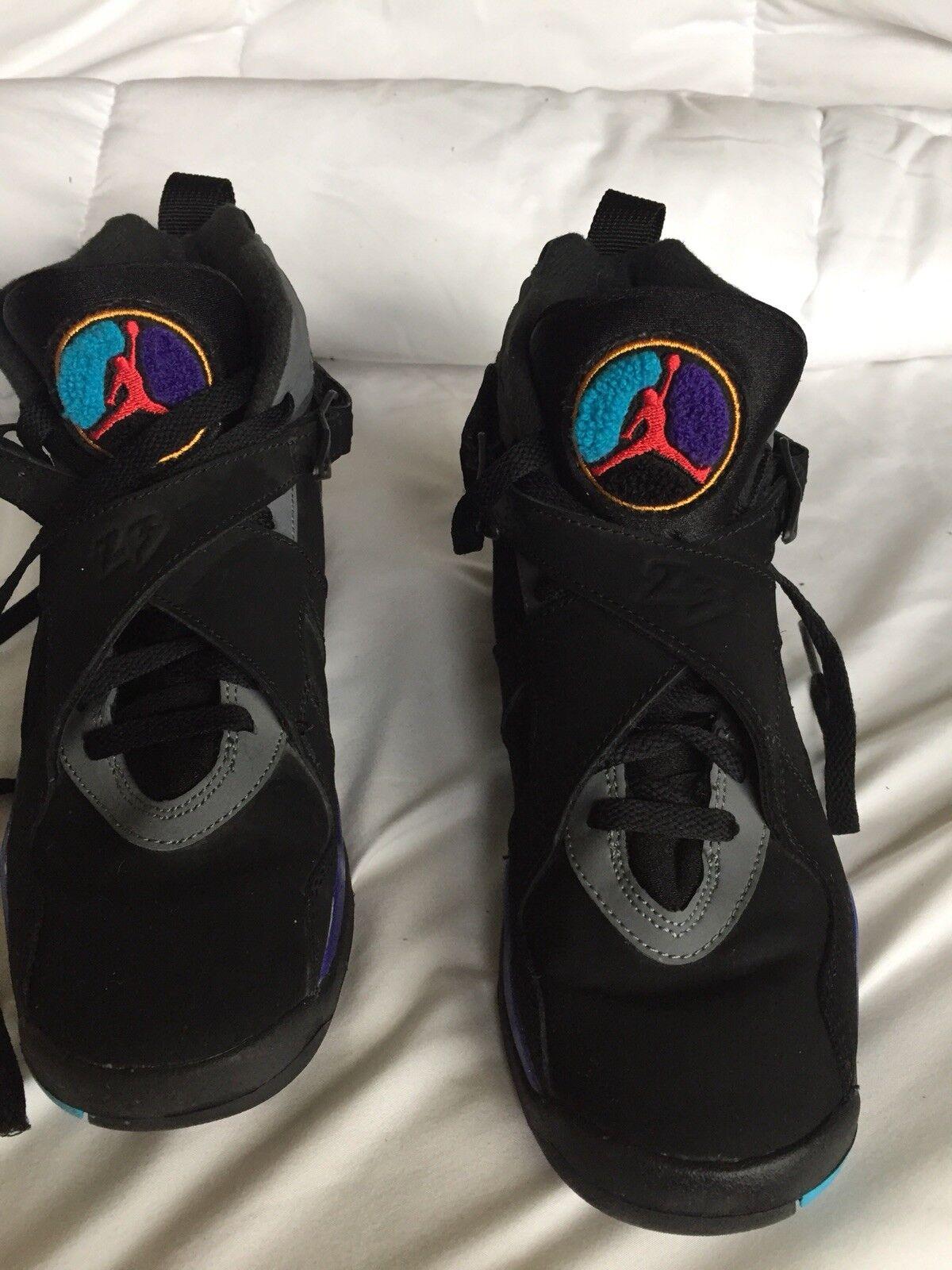 Air Jordan Retro 8 shoes YOUTH Size 4.5