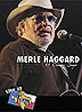 Merle Haggard - Live At Billy Bob's : Ol' Country Singer (DVD, 2004)