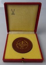 Meissen Medaille: 25 Sparkasse Kreditinstitut für die Bevölkerung , Orden1463