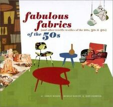 Fabulous Fabrics of the 50s (and Other Terrific Textiles of the 20s,-ExLibrary