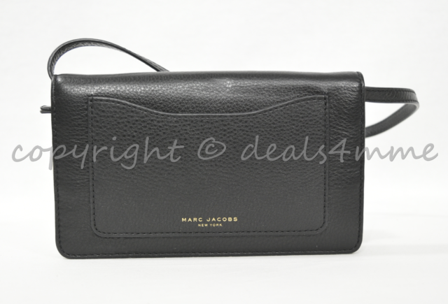 wholesale outlet clients first wide selection of colours and designs MARC By Marc Jacobs M0008178 Recruit Crossbody/Shoulder Wallet Bag in Black