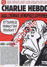 Charlie Hebdo n°1 du 01/07/1992 Mitterrand Cabu Val Renaud Ruquier Charb Luz