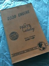 Cat Caterpillar D320 Diesel Engine Parts Manual Book Catalog 63b1 Up Guide List