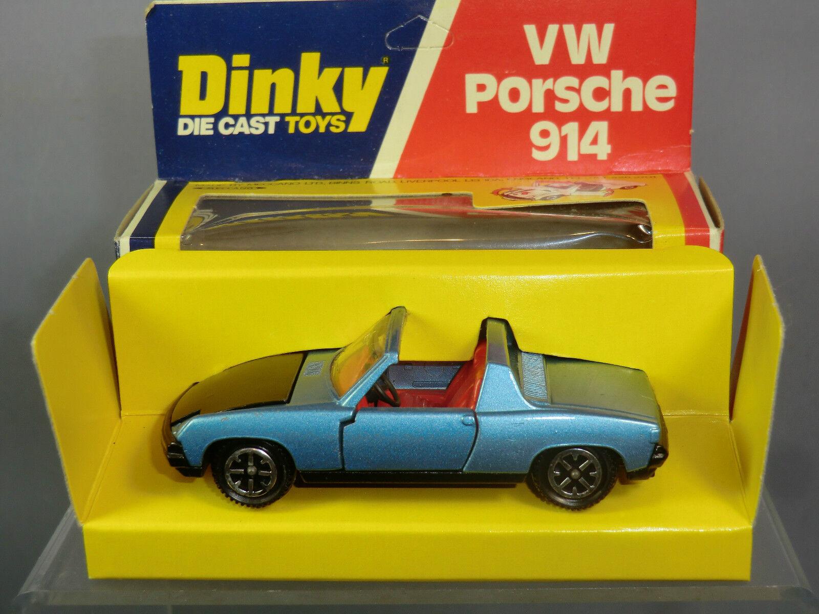 Precio por piso Dinky Juguetes Juguetes Juguetes Modelo No.208 Porsche 914 MIB  80% de descuento