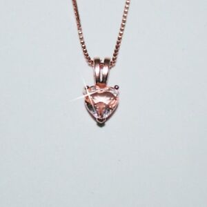 Natural-Pink-Heart-Cut-7mm-Morganite-Pendant-Necklace-14k-Rose-Gold-over-925-SS