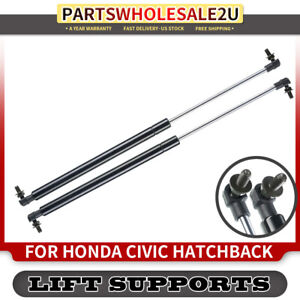 2PCS Rear Hatch Tailgate Gas Lift Supports Struts for Honda Civic 1992-1995