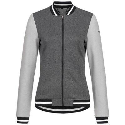 adidas Anthem Cult Jersey Damen Radsport Oberteil Fahrrad Jacke grau AP1161 neu