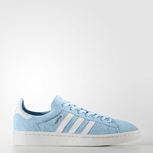 Adidas by9844 frauen campus laufschuhe, blau - weiße turnschuhe