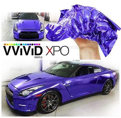 XPO Supercast Purple Conform Chrome vinyl car wrap Vvivid decal sticker mirror