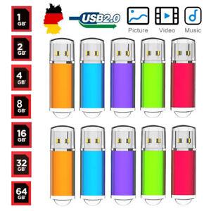 5/10 Stück USB Sticks USB 2.0 Speicherstick USB Speicher USB Memory Thumb Stick