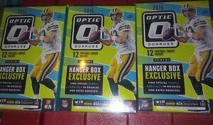 2016-PANINI-Donruss-Optic-Football-Hanger-3-Box-Lot-Wentz-Prescott-Goff-RCs