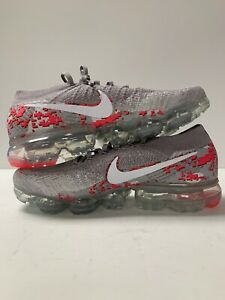 new concept ed46d 01eed Details about WMNS NIKE AIR VAPORMAX FLYKNIT C ATMOSPHERE GREY-PINK