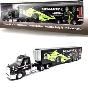 Simon Pagenaud Menards Team 1 Penske Truck Hauler 1 64 2016 Indycar