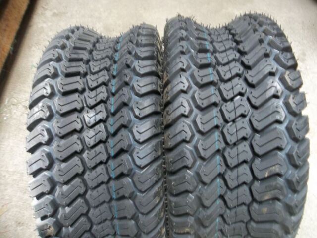 TWO 16/6.50-8,16/6.50x8 Lawnmower / Golf Cart Turf (Z) 4 ply Tubeless Tires