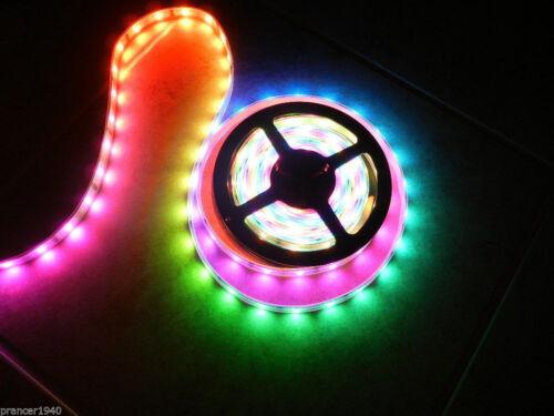 49.2 feet 3 Roll 12V LED Crazy Lights System Tape Rope Lighting Chasing