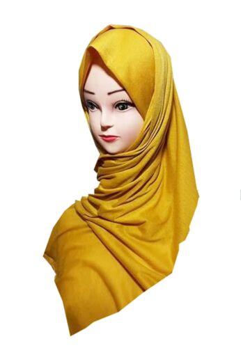 SCIARPA bellissimi colori da scegliere COTONE JERSEY qualità l/'hijab