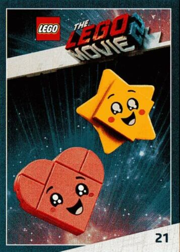 THE LEGO MOVIE 2 TRADING CARD COLLECTOR NEW CARTE VIP RITIRATE 2019