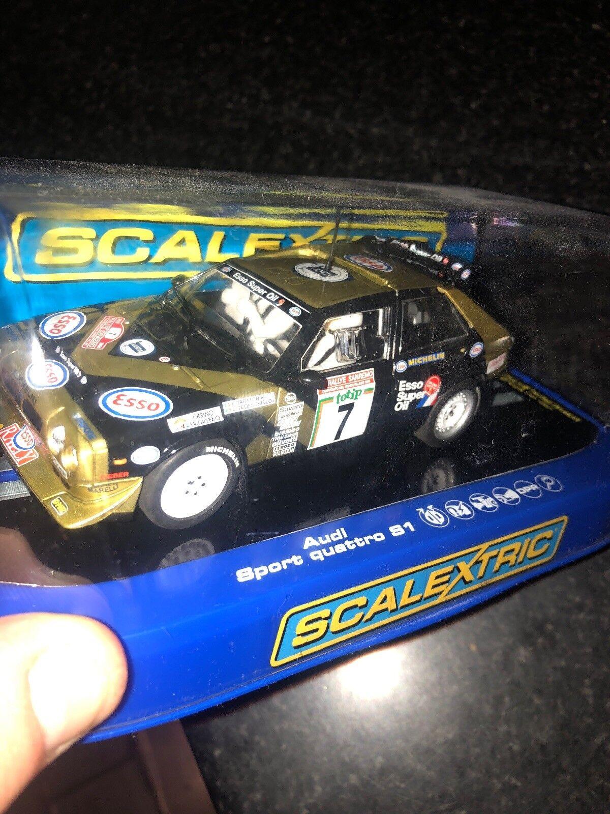 C3490 NEW BOXED SCALEXTRIC LANCIA DELTA S4-F.TABATON 1986 SAN REMO RALLY