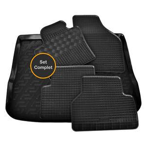 tapis sol caoutchouc coffre sur mesure vw tiguan carat confortline sportline ebay. Black Bedroom Furniture Sets. Home Design Ideas